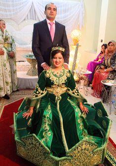 beautiful moroccan brides   Moroccan Wedding Dresses
