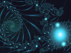 Fractal Art Wallpaper, Jungle Light 2