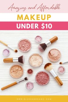 I've fallen into the trap of thinking that makeup had to be expensive to work. But I'm here to tell you, I was wrong! I found 9 affordable substitutes for the expensive makeup items I've been using for years and you know what? I've incorporated all but one into my makeup routine! Read on to see which one I didn't like and which ones I do! #dailymakeup #makeupaddiction #makeupandwakeup