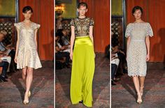 Behnaz Sarafpour - NY Fashion Week -- exquisite collection
