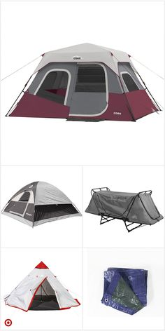 Shop Target for camping tents you will love at great low prices. Free shipping on orders of $35+ or free same-day pick-up in store. Camping Needs, Best Camping Gear, Backpacking Tent, Camping Glamping, Outdoor Camping, Camping Stuff, Camping Hacks, Tent Cot, Tent Tarp