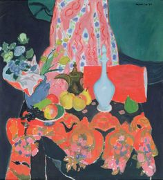 Joseph Abhar - Alberto Morrocco (1917–98), window in orbitello, 1980. oil on board. A Scottish artist of Italian heritage.