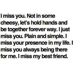 To that childhood bestfriend that you thought would always be there...