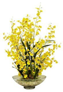"""28"""" Orchid in Vase, Faux"""