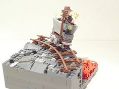 LEGO Indiana Jones Mine Cart (via PigletCiamek)