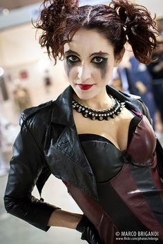 Edgy Harley Quinn Cosplay, Cartoomics 2013, ~mbriga