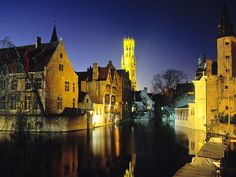 Bruges -- as per my dad, an underrated beautiful city in Belgium. The Venice of the North. Definitely on my places-to-go list.