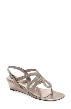 Adrianna Papell 'Carli' Wedge Sandal (Women) available at #Nordstrom