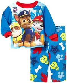 Nickelodeon Baby Boys Paw Patrol Ready For Duty 2 Piece Pajama Set Red 18 Months -- Be sure to check out this awesome product. (This is an affiliate link) #BabyBoySleepwearRobes