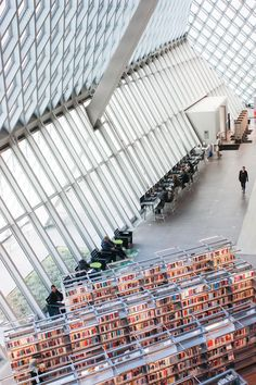 Seattle Public Library Designed By Rem Koolhaas #architecture #design #seattle