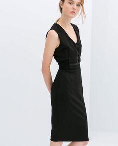 Image 1 of SHIFT DRESS from Zara  SHIFT DRESS Ref. 0264/013