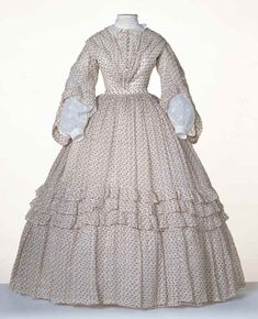 The Story of a Seamstress: Historical Dress for 'The Oaks' Museum