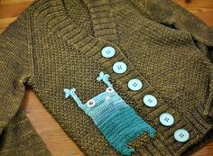 how knit can go with crochet