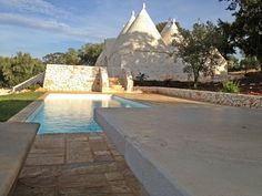 Trullo with pool and views for rent