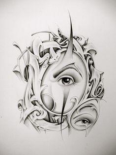 Chicano Tattoos Sleeve, Chicano Style Tattoo, Body Art Tattoos, Tattoo Lettering Design, Tattoo Design Drawings, Art Drawings, Arte Cholo, Cholo Art, Arte Lowrider