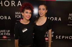 Iris Cecilia protagonizó su primera experiencia como modelo en una jornada muy animada y llena de glamour gracias a Sephora y su evento.