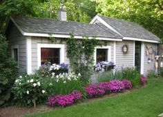 a potting shed! yes!