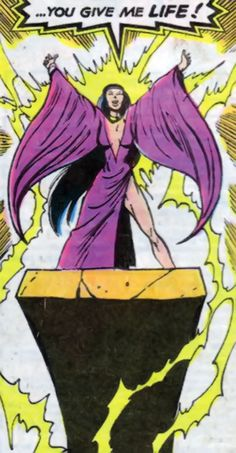 The New Mutants then immediately went with Roberto's mother, an archeologist, to Brazil. While the New Mutants went with her on an expedition in the Amazon jungle, they were captured along with Amara Aquilla by soldiers of Nova Roma and imprisoned. Now held prisoner by Selene, Amara was to be sacrificed. Selene used her mutant powers to drain Amara's life energy into her own body. Dani attacked Selene causing her to release Amara from her control, but Selene knocked Amara into the pit of…