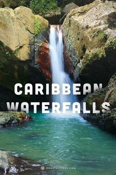 The views of these Caribbean waterfalls are unlike anything here in the US.