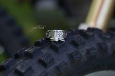 dirt bike wedding ring jodie lemke photography kelowna photographer Renee + Wes Altman June 14 2014 #dirtbike #kinekt gear ring