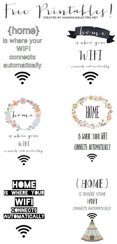 Wifi free für deine Gäste - by magnoliaelectric: