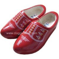 Wooden Shoes in beautifu red!