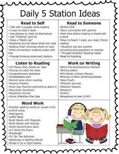 Reading Stations to support reading in the classroom. The Second Grade Superkids: Daily 5 Station Ideas Daily 5 Stations, Daily 5 Centers, Reading Stations, Reading Centers, Literacy Centers, Writing Centers, Reading Center Ideas, Work Stations, Reading Logs