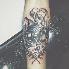cabin tattoo - Google Search