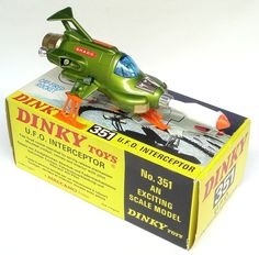 A Dinky UFO interceptor, my brother was a proud owner of one of these. 70s Toys, Retro Toys, Vintage Toys, Vintage Space, My Childhood Memories, Childhood Toys, Corgi Toys, Space Toys, Gi Joe