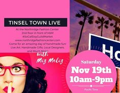 I'll be at the #socaletsyguildmarket @northridgefashioncenter all day Saturday selling all my handmade jewelry and hand painted glass baubles books calendars stencils and more. Can't wait to see you there! Come and support local artists. @mizmelizla #instamizmeliz - http://ift.tt/29sAi28