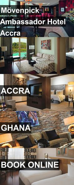 Hotel Mövenpick Ambassador Hotel Accra in Accra, Ghana. For more information, photos, reviews and best prices please follow the link. #Ghana #Accra #MövenpickAmbassadorHotelAccra #hotel #travel #vacation