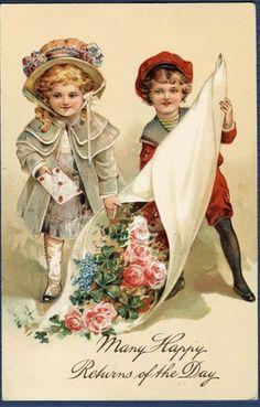 Love this old vintage postcard!!!