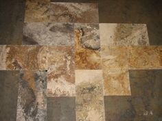 VOLCANO TRAVERTINE HONED AND FILED 9X18 NATURAL STONE TILE