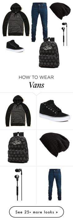 """""""V2"""" by hope54406 on Polyvore featuring Hollister Co., SELECTED, Free People, Vans and Skullcandy"""
