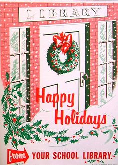 RETRO POSTER - Happy Holidays   Flickr - Photo Sharing!