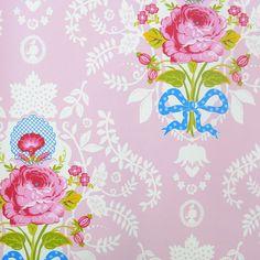 Pip Studio Behang Shabby Chic roze behangnr. 313003