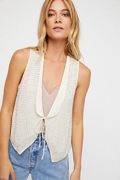Dance Into The Night Vest by Free People
