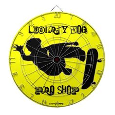 GAMES - DART BOARD - LIBERTY DOG PRO SKATEBOARDING