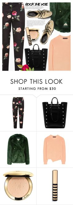 """""""Rock the Vote in Style"""" by anna-anica ❤ liked on Polyvore featuring N°21, Mulberry, MICHAEL Michael Kors, Proenza Schouler, Guerlain and rockthevote"""