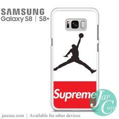 Air Jordan Supreme Phone Case for Samsung Galaxy S8 & S8 Plus - JARCASE