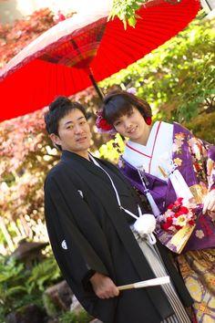 新郎新婦さまからのメール 扇ブーケ 平安神宮 : 一会 ウエディングの花