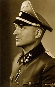 Nikolaus 'Klaus' Barbie (25 October 1913 – 25 September 1991) was an SS-Hauptsturmführer (rank approximately equivalent to army captain) and Gestapo member. He was known as the Butcher of Lyon.