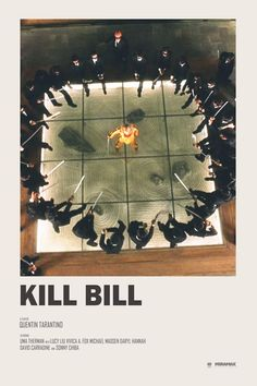 Andrew Sebastian Kwan - Kill Bill alternative movie poster Prints available HERE - Iconic Movie Posters, Minimal Movie Posters, Minimal Poster, Cinema Posters, Movie Poster Art, Poster Series, Kill Bill, Movie Prints, Poster Prints