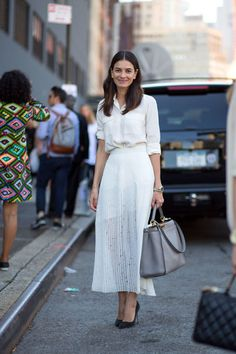 Perfect white city dress