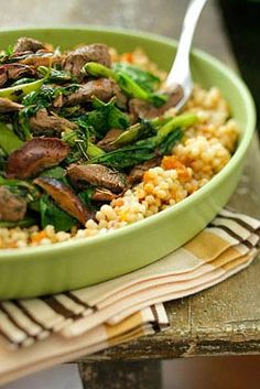 Rosemary and Mint Lamb Stir Fry with Apricot Couscous