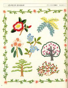 Embroidery Sampler Book - Japanese craft book