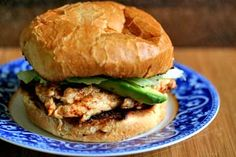Chipotle Grilled Chicken with Avocado Sandwich (photo)