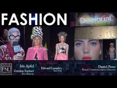 Desigual with Iris Apfel SS16 | NY Fashion Week | Fashion Exclusive