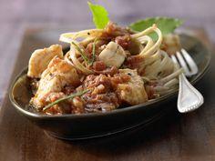 Fisch-Bolognese mit Gemüse - smarter - Kalorien: 490 Kcal - Zeit: 35 Min. | eatsmarter.de