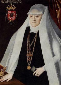Portrait of Queen Anna Jagiellon as a widow by circle of Martin Kober, after 1586 (PD-art/old), Muzeum Narodowe w Warszawie (MNW)